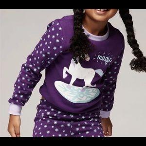 3/$15 ☘️ Wonder Co. Kids Unicorn Pajama Top